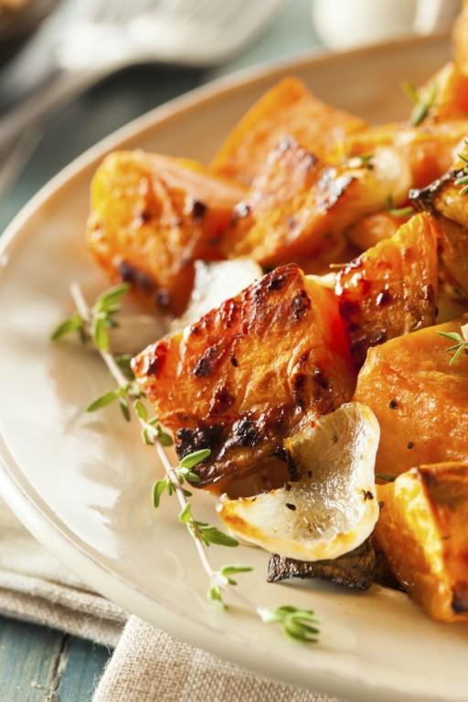 Zoete aardappels stock2