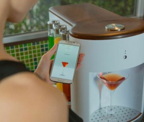 Met de Somabar maak je thuis supermakkelijk een heerlijke cocktail