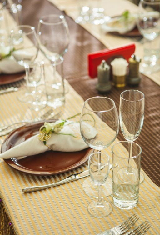 tafel Servet stock