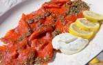 Fishy Friday: gravad lax met dille crème fraîche