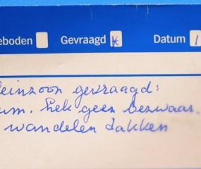 Video: Albert Heijn bezoekt de mensen achter de vraag & aanbod-kaartjes in de supermarkt