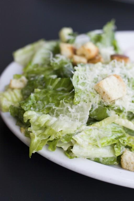 Caesar salade stock