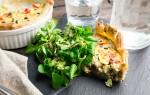 Koken met aanbiedingen: tonijnquiche met groene salade
