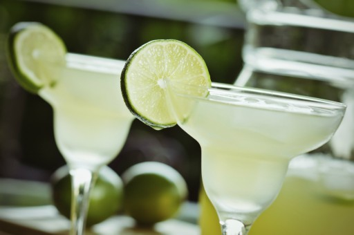 Margarita cocktail stock