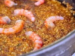 Fishy Friday: paella met gamba's