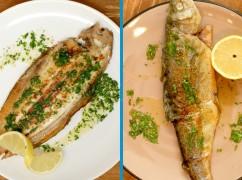 Fishy Friday: zo maak je klassieke tong en forel à la meunière
