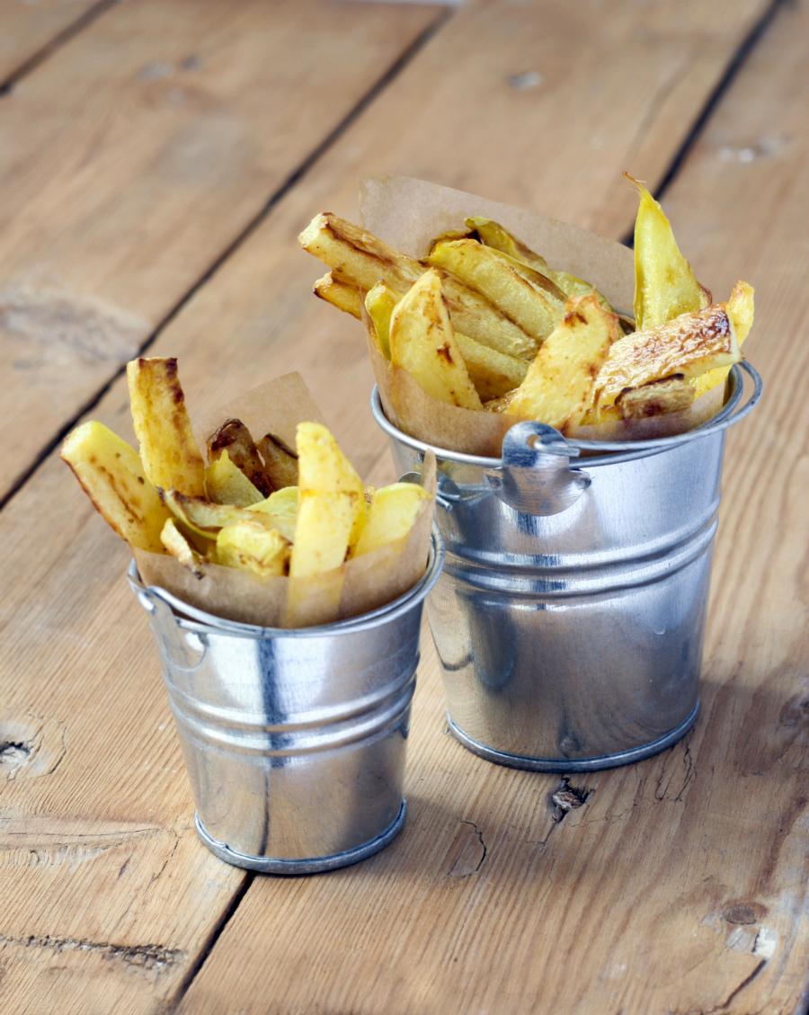 6 x homemade frietjes die niét van aardappel zijn gemaakt