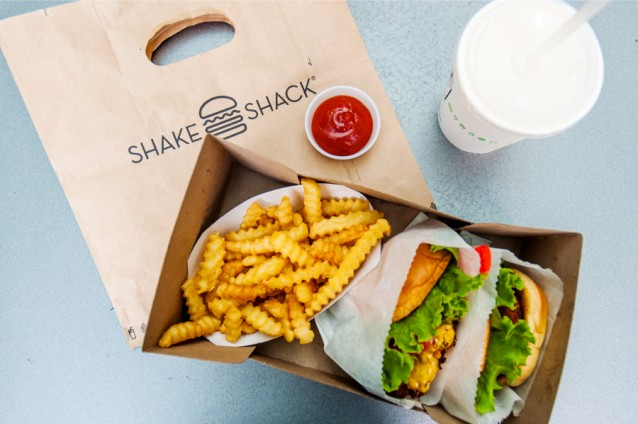 Burgers & friet bij Shake Shack