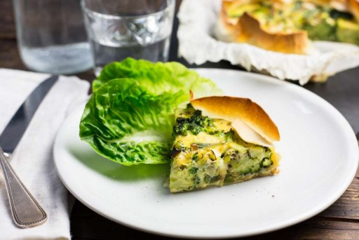 Koken met Aanbiedingen groentequiche