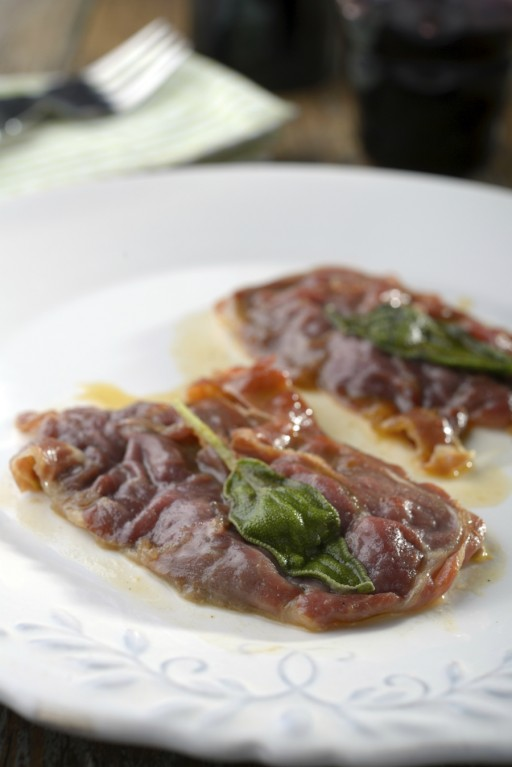 Saltimbocca stock