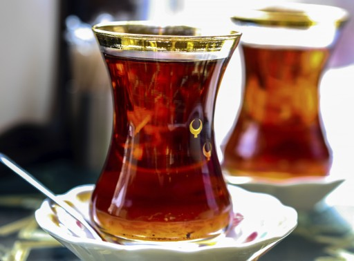 Stock Turkish tea