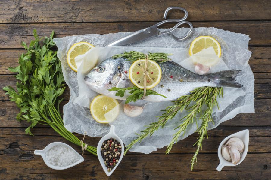 viskruiden voor zalm