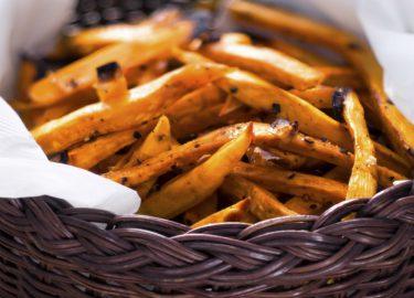 rode zoete aardappel bereiden