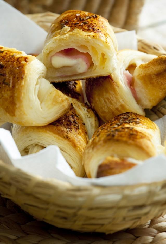 Croissants stock