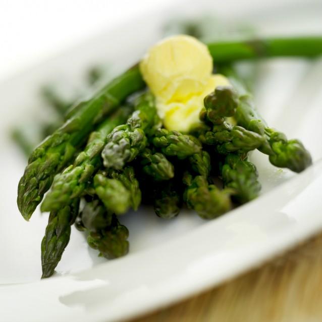 Groene asperges stock2