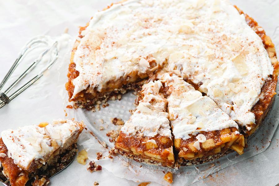 no-bake glutenvrije appeltaart (super easy!) - culy.nl