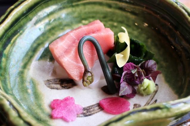 Sashimi van vette tonijn