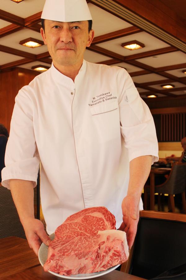Chef-kok Masanori Tomikawa