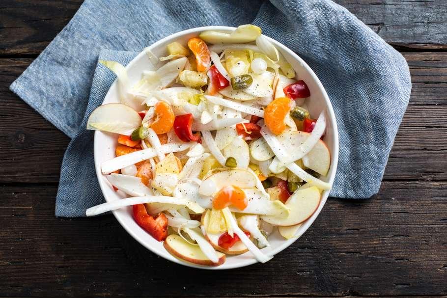 salade met witlof