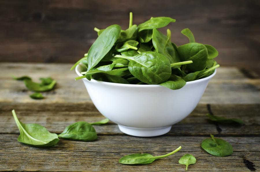 hoe kook ik verse spinazie