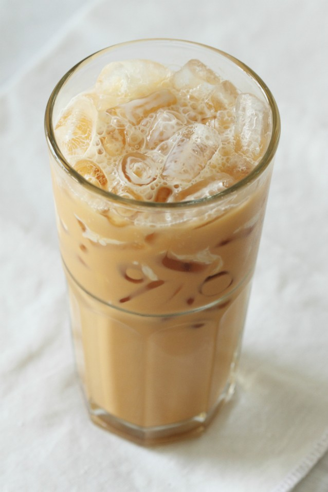 Thai ice tea stock