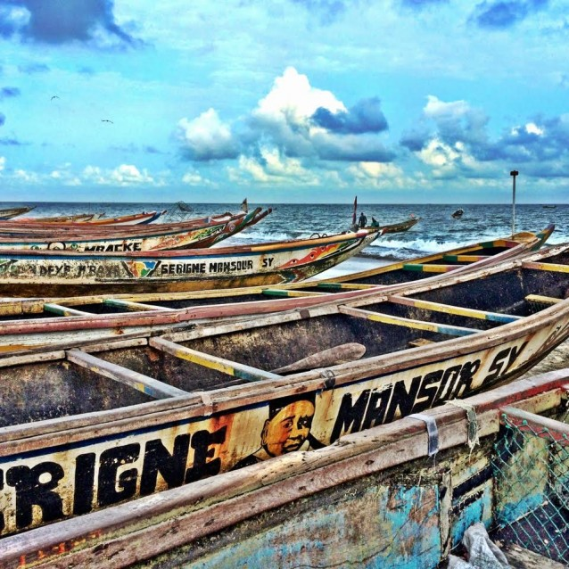 The Gambia vissersbootjes (1)
