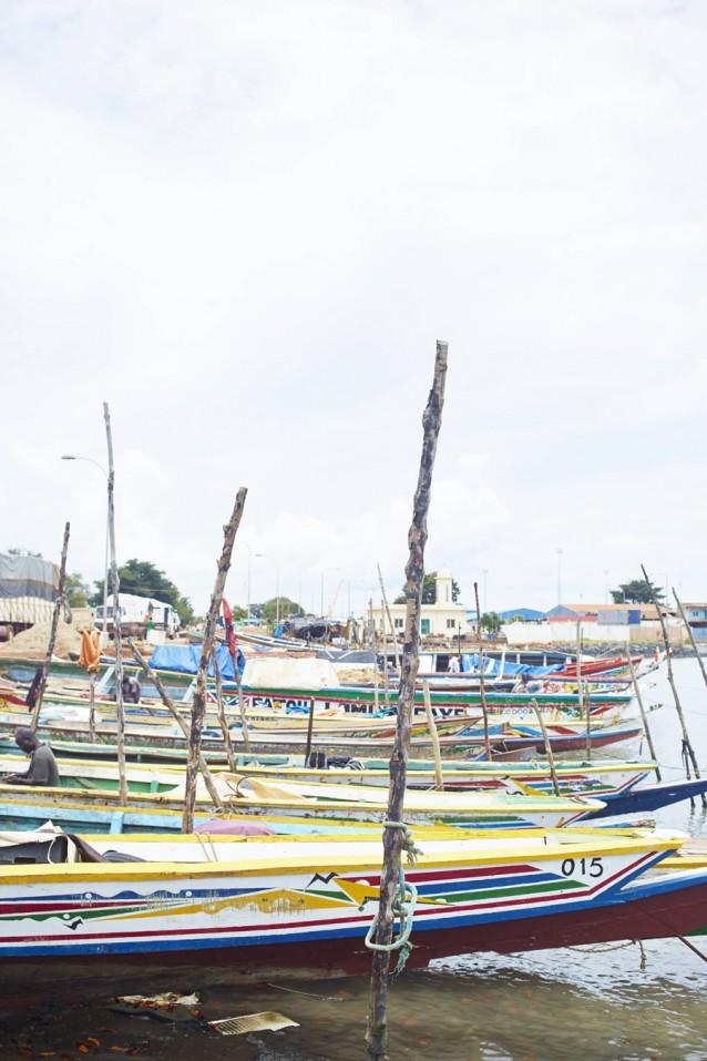 The gambia foto copyright David Loftus, boten lokale visserij