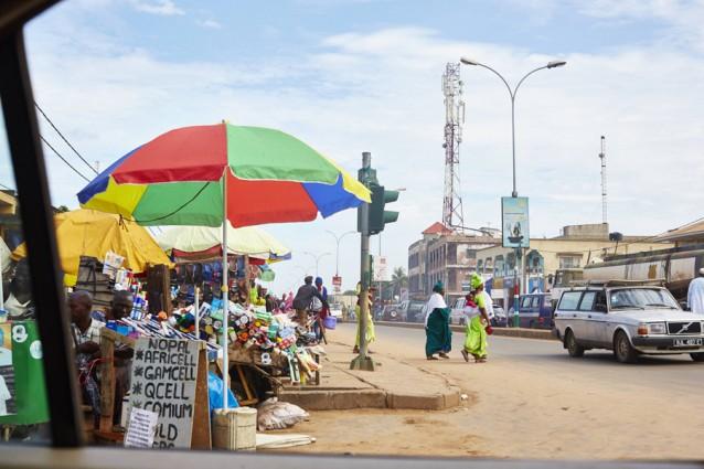 The gambia foto copyright David Loftus, dorpje in gambia 2