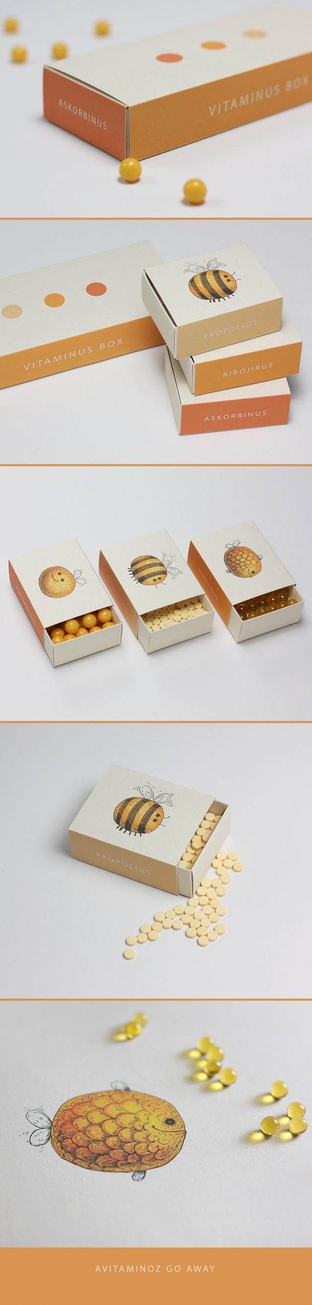 Vitaminepillen verpakking