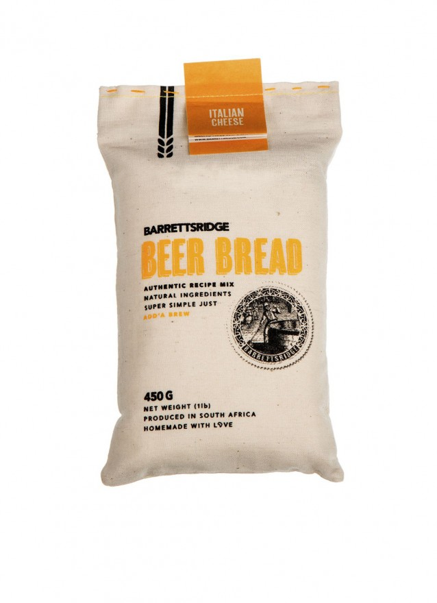 Beer Bread Kit van het merk Barrett's Ridge