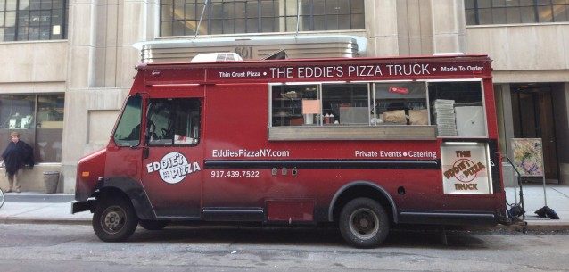 The Eddie's Pizza Truck