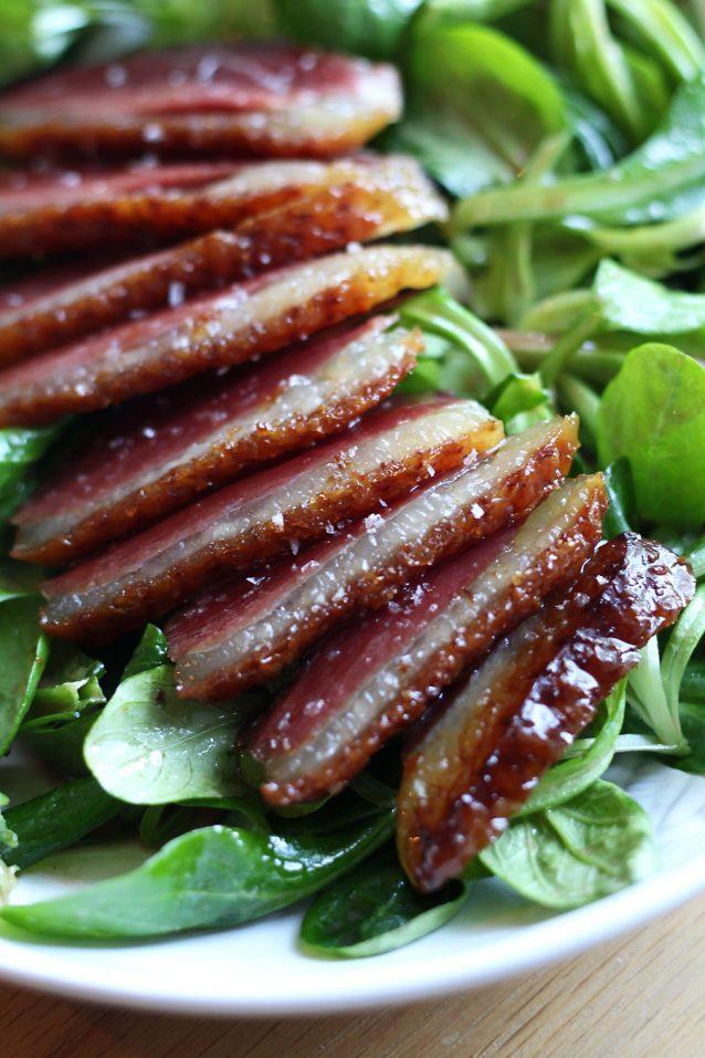 Culy Homemade: salade met gerookte eendenborst0003