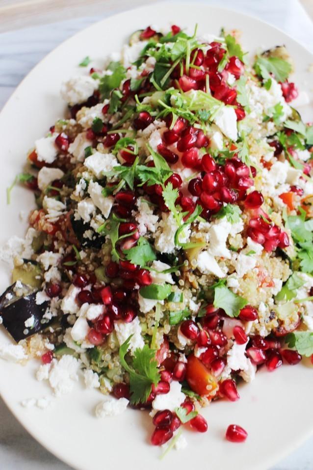 Quinoa koken salade