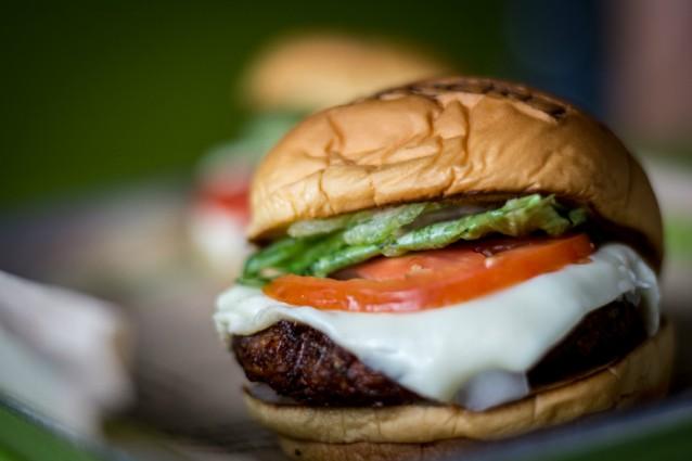 Vega burger stock4