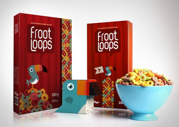 Fruit loops verpakking