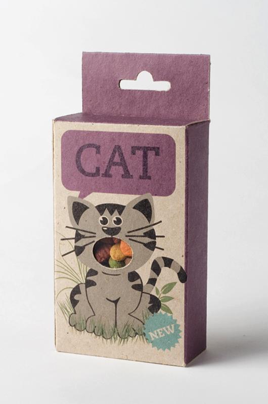 Kattenvoer verpakking
