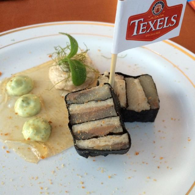 Kroontjes haring met brado, schelvis en Texels Radler (de winnaar van de Publieksprijs!)