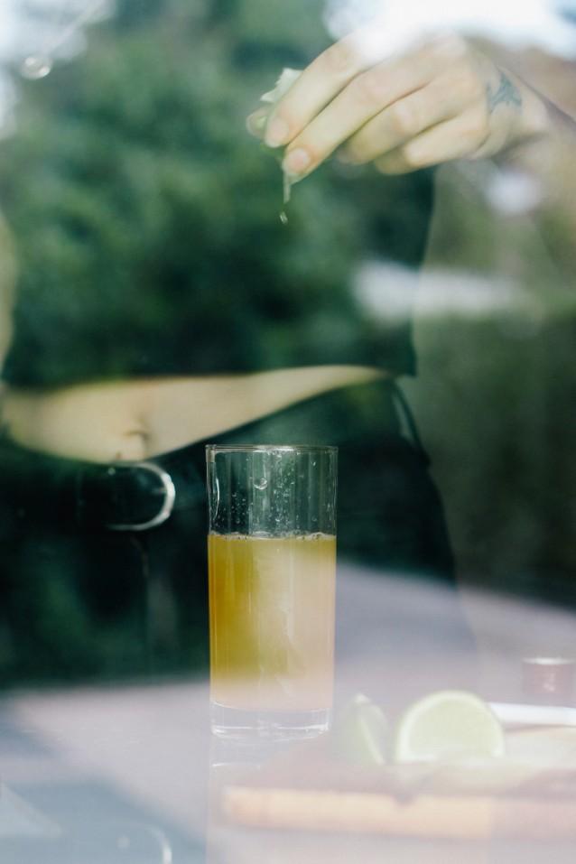 Cocktail voor whiskey liefhebbers de Apple Mac0001