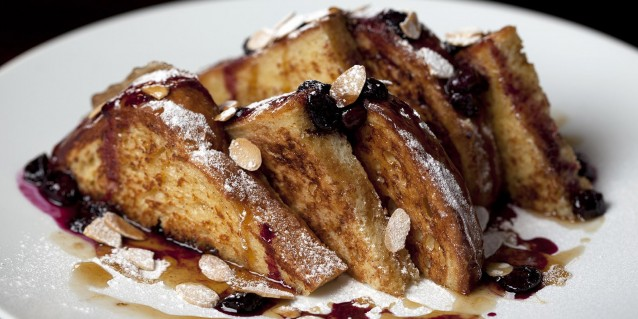 Griddled Brioche French Toast- CUT at 45 Park Lane