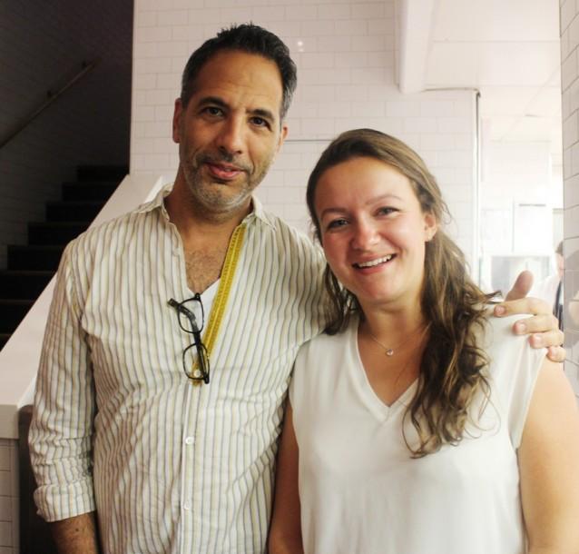 Yotam Ottolenghi met Culy's Liselotte