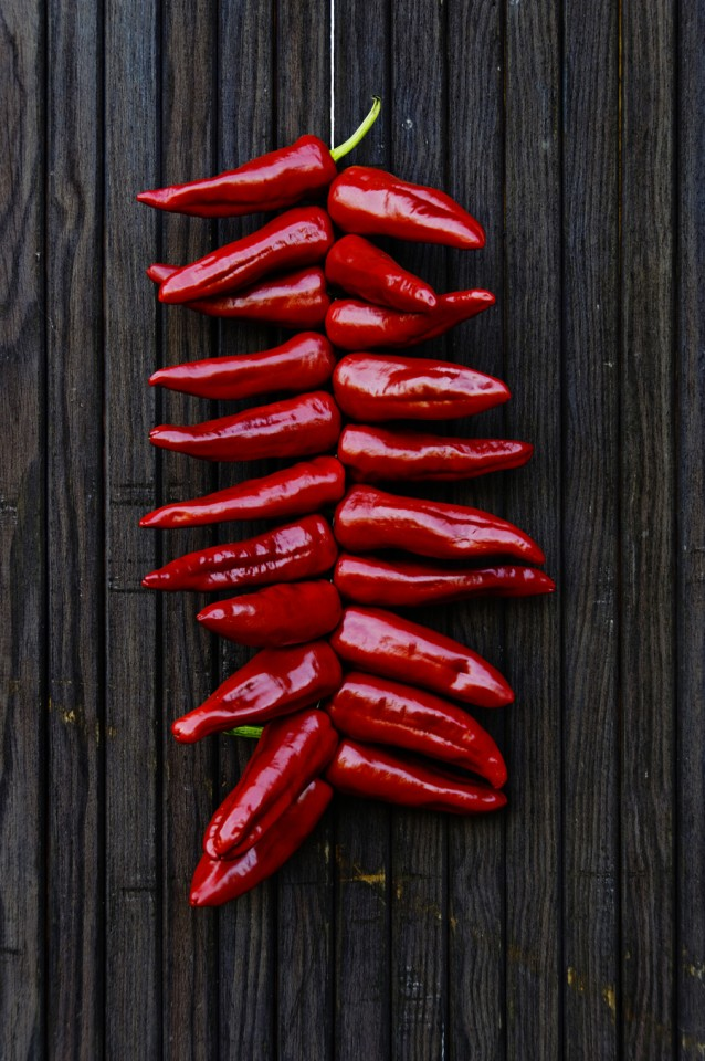 Piment d'espelette peper stock2