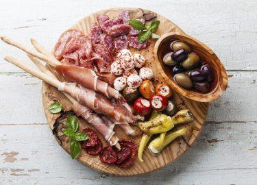 Italiaanse restaurants / antipasti