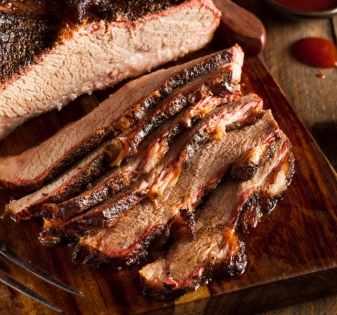 Homemade Smoked Barbecue Beef Brisket