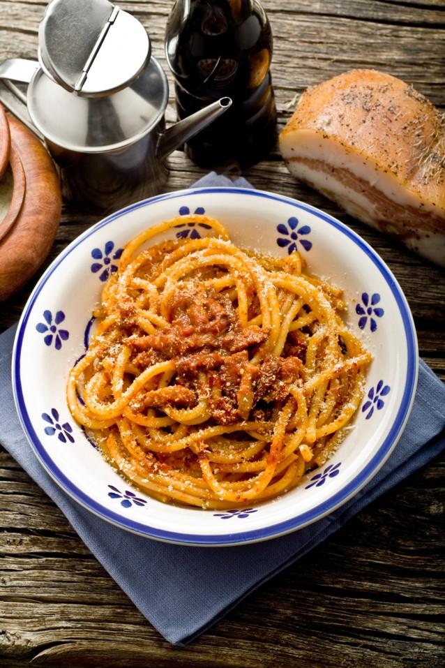 italian pasta amatriciana