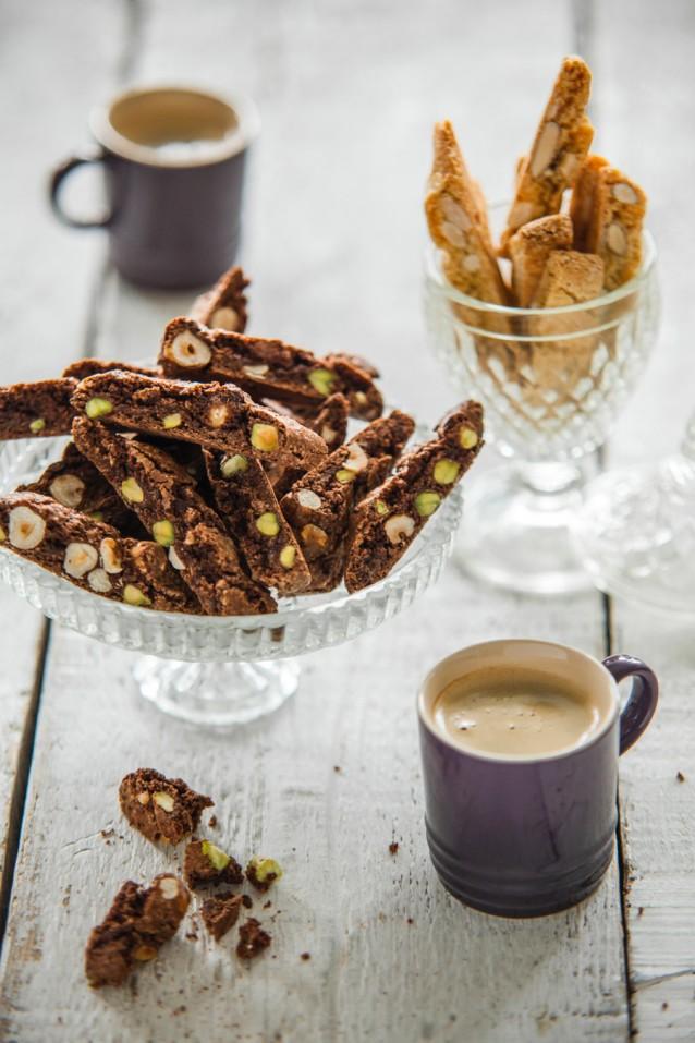 Chocolade cantuccini