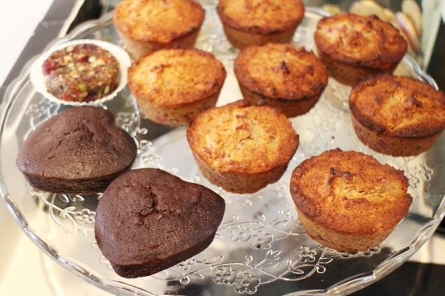 Gluten- en suikervrije gebakjes
