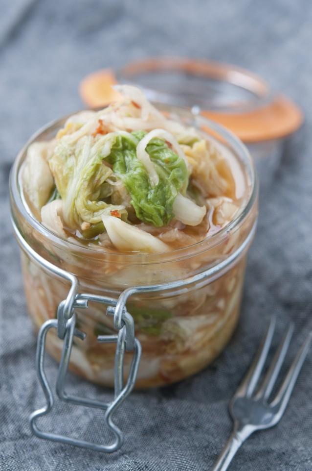 Stock kimchi