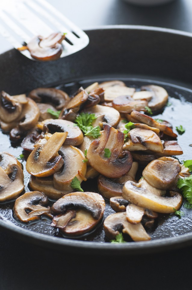 Butter Fried Mushrooms