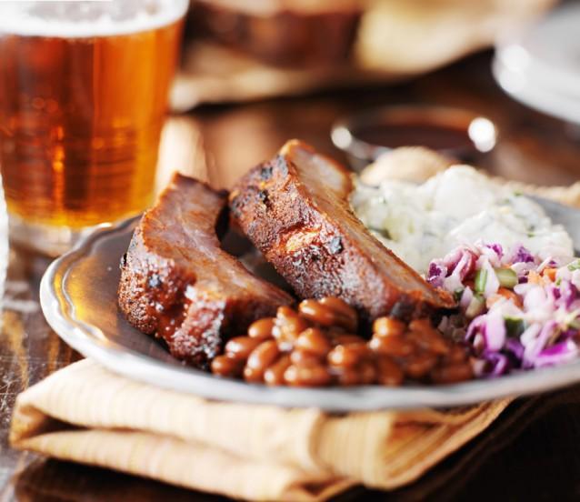Bier ribs stock