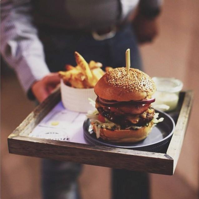 Burgers & Booze